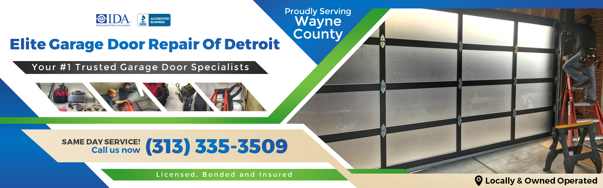 Elite Garage Door Repair Of Detroit MI & Waybe County