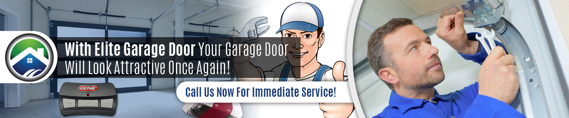 Garage Door Off Track Repair - Elite Garage Door
