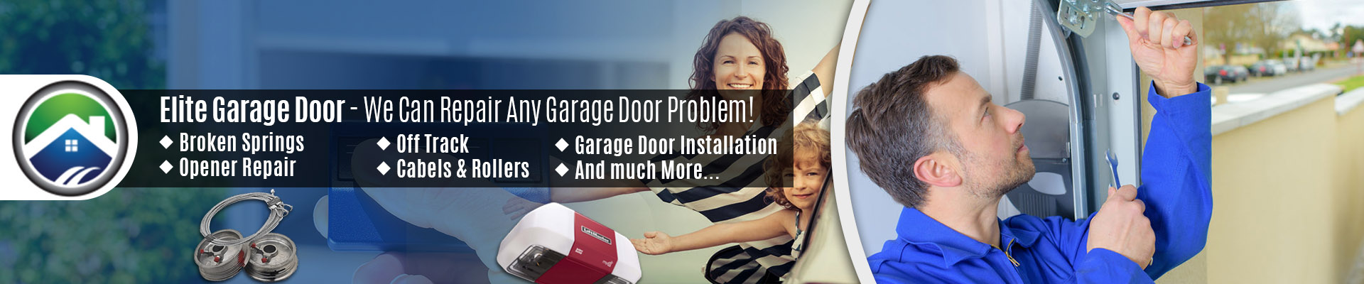 Garage Door Roller Came Out Of Track Repair By The Elite Garage Door Of Seattle Experts
