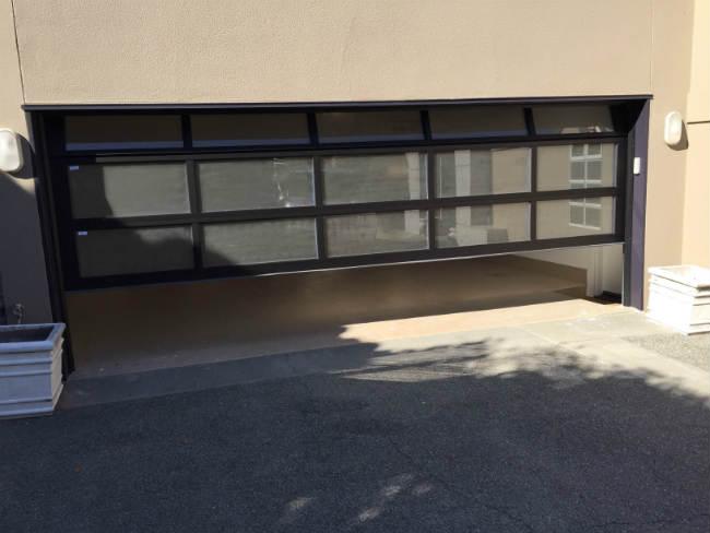 Frost Look Garage Door In Taylor MI By Elite® Garage Door, Repair & Installation Services